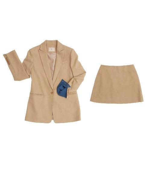 bd894efd67 [앤유] [아이유 착용] AVIGNON single button blazer & PARIS Skirt set