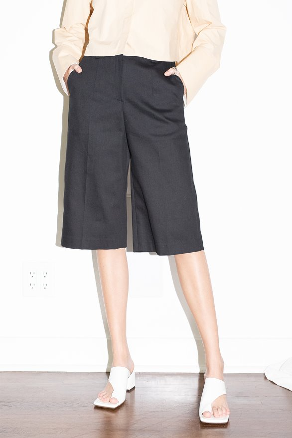 [김나영 노필터 TV]CULVER CITY bermuda shorts (Black)