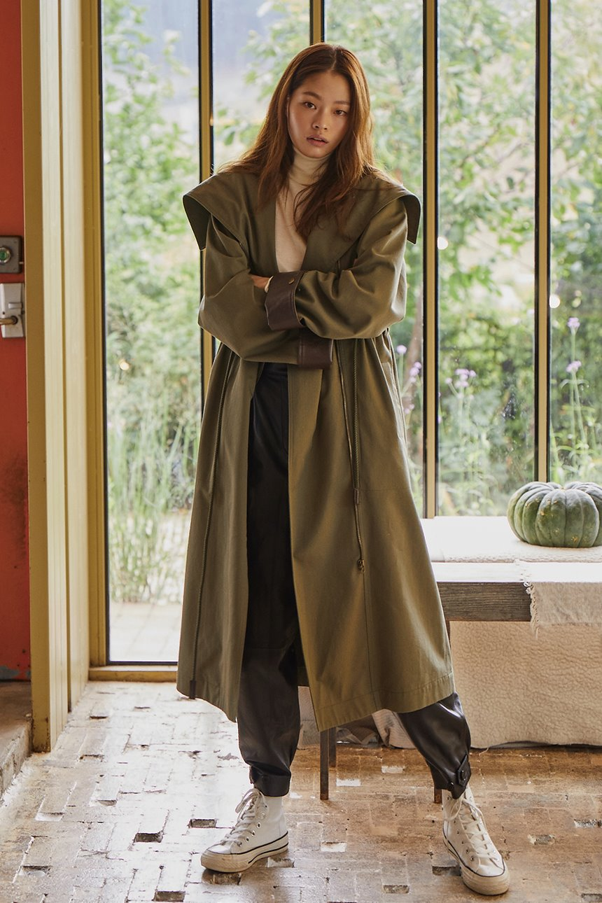 SINDORIM Field coat (Dark olive)