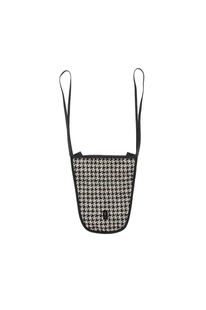 [앤유X노필터TV]ITAEWON Bag (Black houndstooth)